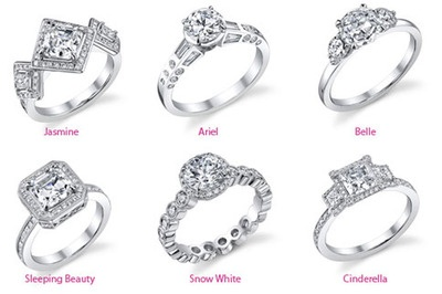 Disney Princess engagement rings!!