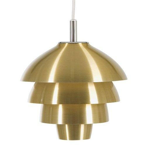 T 1307 Valencia fönsterlampa Ø 18cm mässing