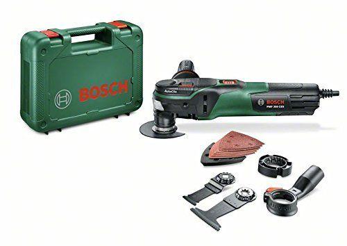 Bosch Outil multifonctions PMF 350 CES avec accessoires: Price:149.82L'outil multifonctions pour de nombreuses applications : Ponçage &…