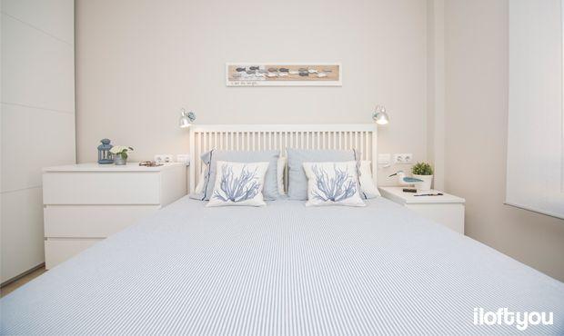 #proyectopalamos #iloftyou #interiordesign #ikea #palamos #costabrava #lowcost #malm #maisonsdumonde #enje #bardu #pax #bedroom