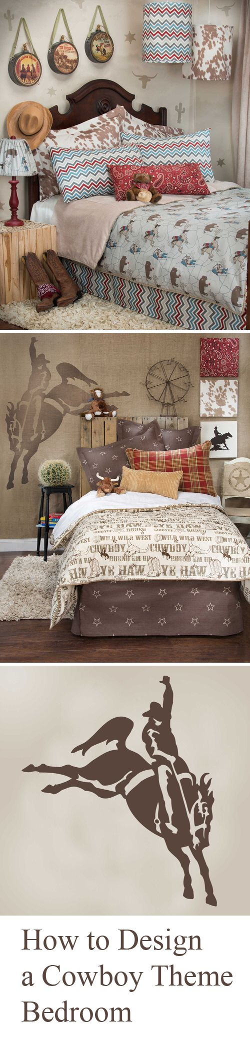 How to Design a Cowboy Theme Bedroom