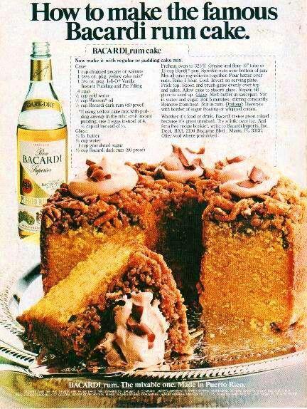 Bacardi Rum Cake Recipe About Com