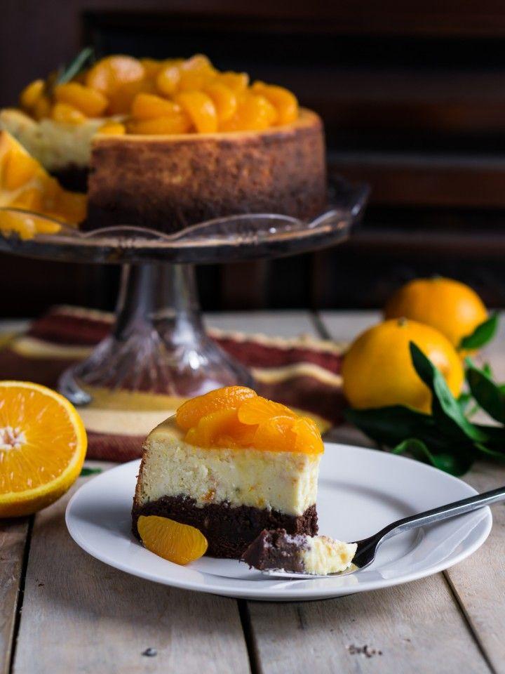 Апельсиновый чизкейк с брауни » Рецепты » Кулинарный журнал Насти Понедельник. Кулинарные рецепты с фото.