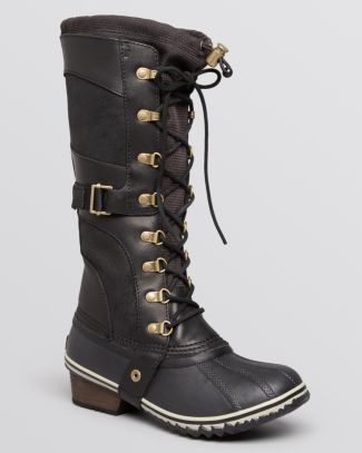 Sorel Lace Up Cold Weather Boots - Conquest Carly  Bloomingdale's