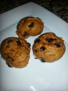 Weight Watchers Chocolate Chip Pumpkin Cookies -  Don't let the name fool you, these are AMAZING!