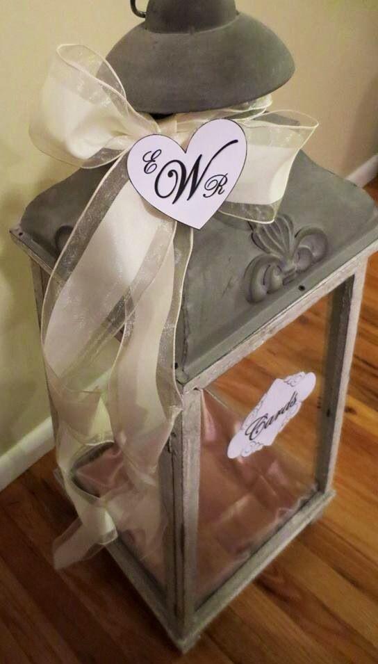 Lantern Wedding Card Holder