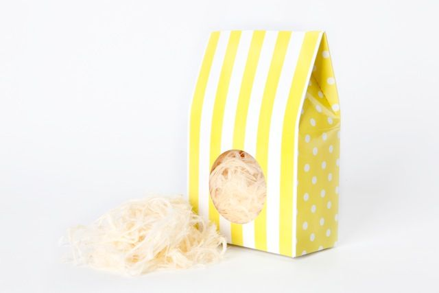 Lemoni Gelato candy box from candy soirees partyware
