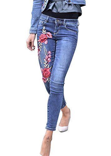 0ea0764d73a09f Pin de Bettina Ahmad en designermode.ml | Outfit jeans, Jeanshosen y Damen  jeans