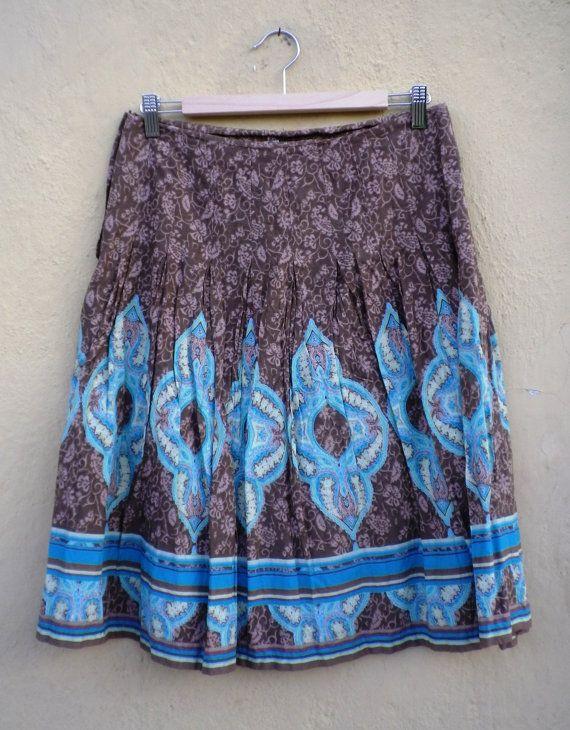 Vintage Skirt / Hipster Skirt / Boho Skirt / Festival Skirt /