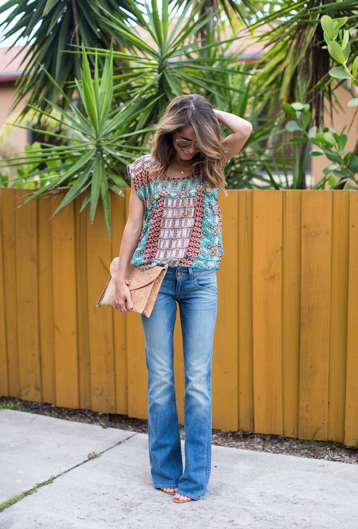 Hudson Jeans x Gypsy Top from @marshalls