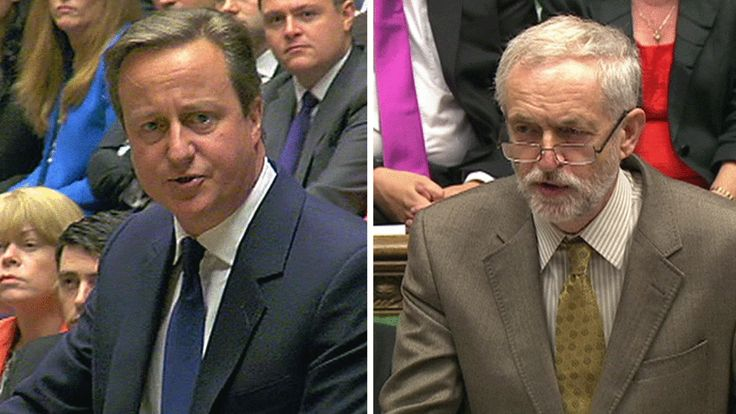 New Labour leader Jeremy Corbyn asks David Cameron a series of questions emailed to him from members of the public on housing and tax credits at his debut PMQs.