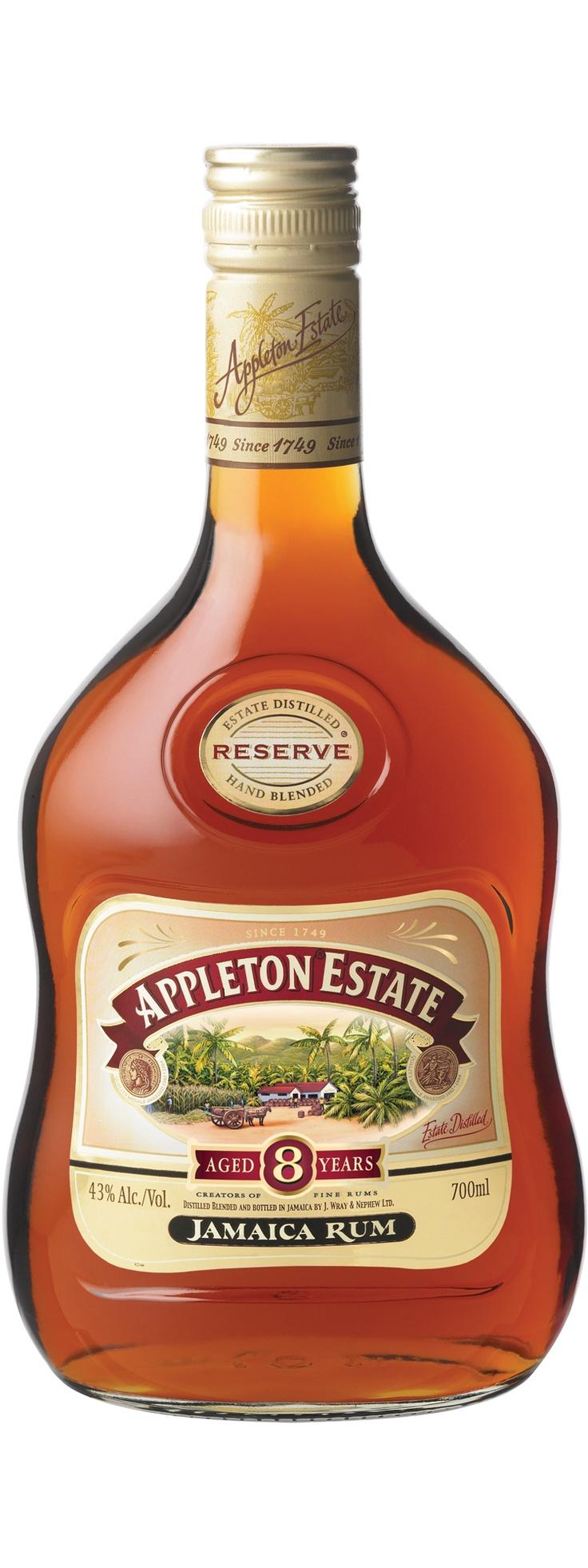 Appleton Estate 8 year old Appleton estate, Rum, Jamaica