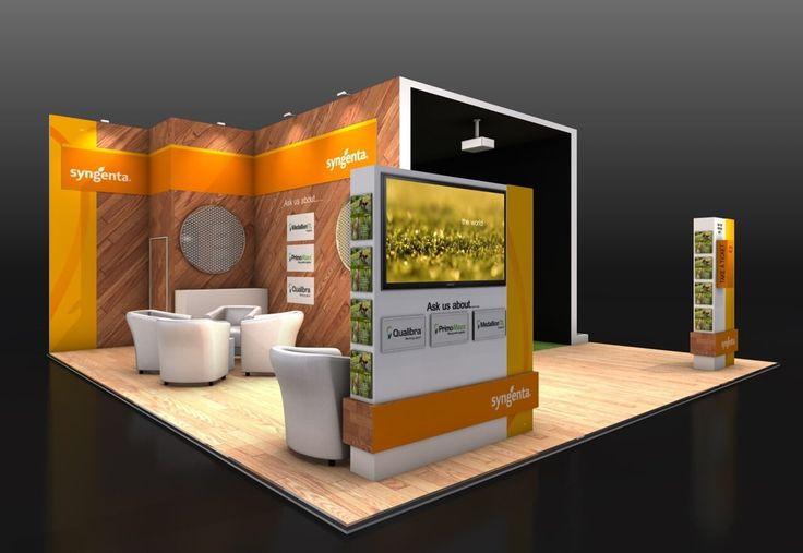 8m x 8m exhibition stand design