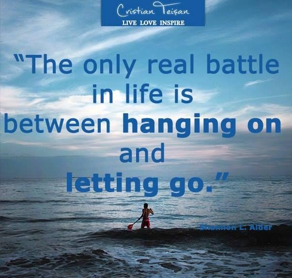 """,,Singura bătălie adevărată în viață este între a rezista și a renunța.""""…"""