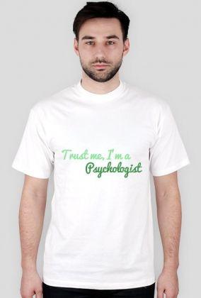 Trust me, I'm a psychologist - męska, zieleń, 43,00 zł, #psychologia, #psychology, #psychopraca, #cupsell, #gifts, #prezenty, #trustme