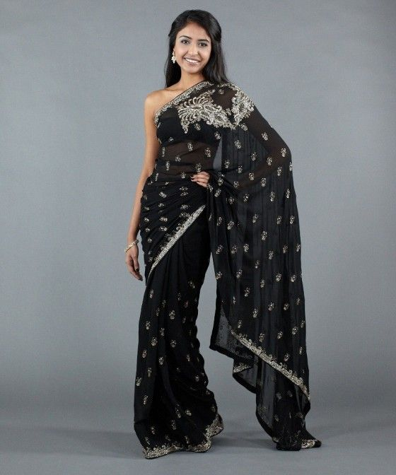The Little Black Dress Of Saris Indian Wedding
