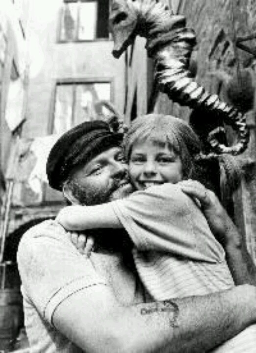 Pippi and her Daddy...