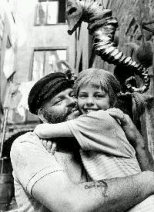 Papa Langkous en Pippi