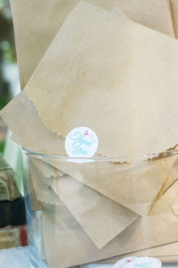 Paper Bag Wedding Favor Ideas : unique wedding favors unique weddings wedding fun vintage weddings ...