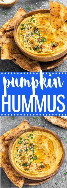 If you have pumpkin puree on hand, whip up a batch of this savory pumpkin hummus. Pair it with pita bread, crackers or veggie sticks and you have a delicious snack or appetizer ready in 5 minutes via /easyasapplepie/