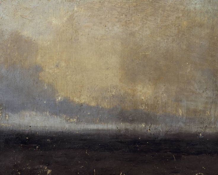 j.m.w. turner - oil on millboard - seascape (1828?)