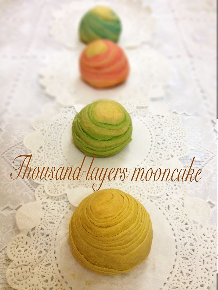 Thousand layers mooncake
