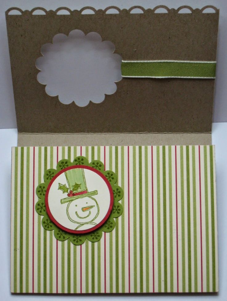 Stampin Up Christmas gift card holder with tutorial-instructions by Di Barnes #colourmehappy
