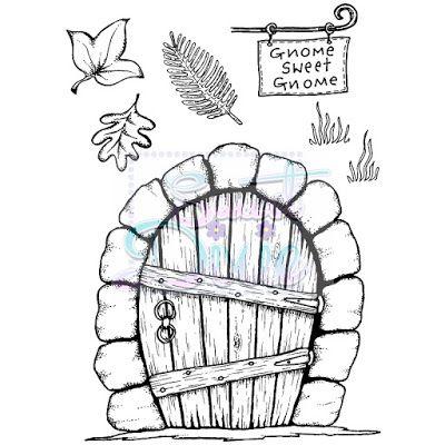 fairy door template - Google Search