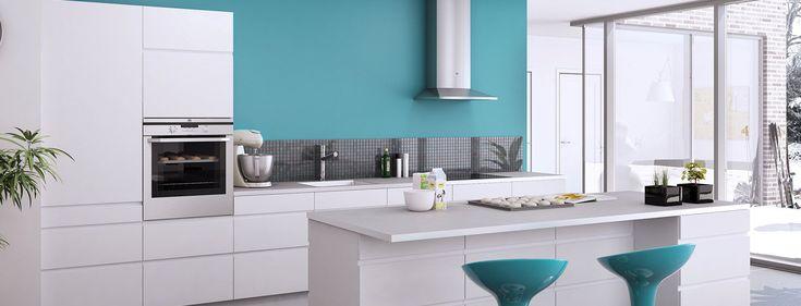 meble kuchenne w stylu skandynawskim, skandynawska kuchnia, nowoczesne proste meble kuchenne, inspiracje,