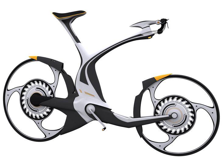 Futuristic bike by WARxSnake.deviantart.com on @deviantART
