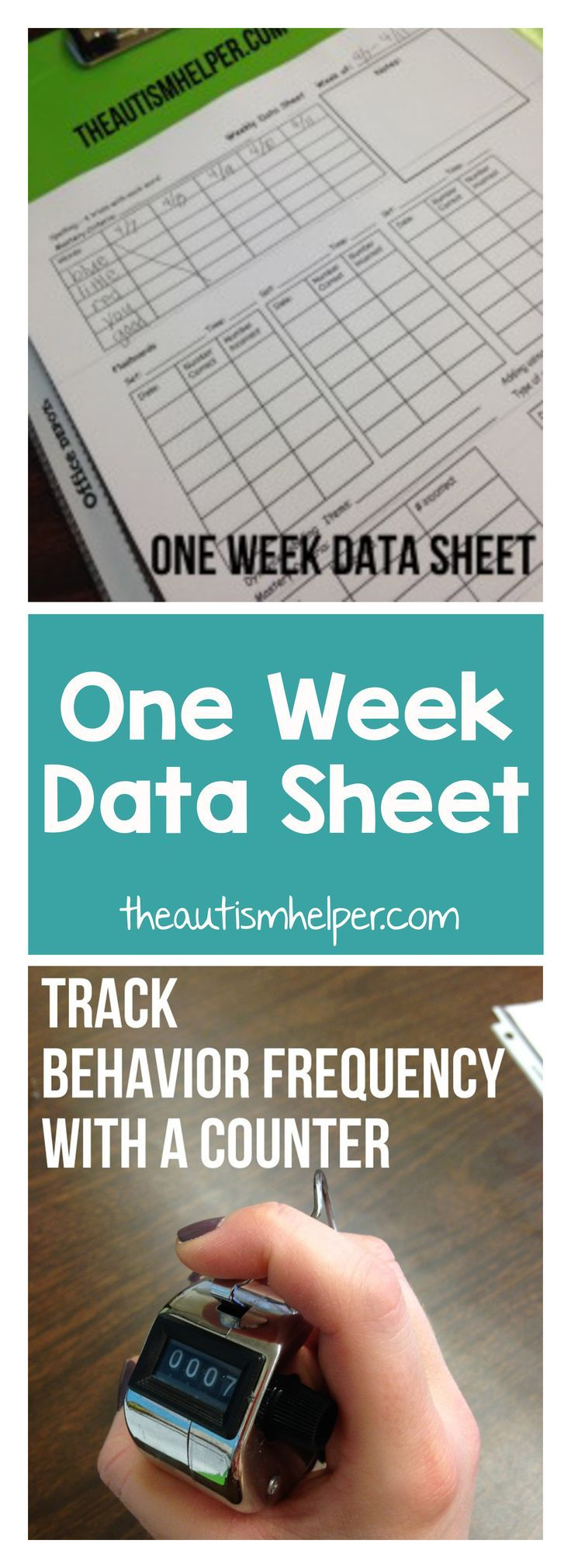 79 best Data Sheets and Planning Forms images on Pinterest | Autism ...