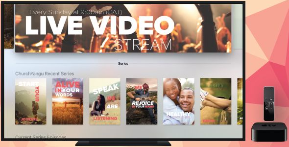 cool Apple Television Church App - ChurchYangu (Audio/Video)