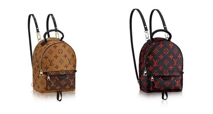Les sacs mini de luxe : Louis Vuitton sac à dos
