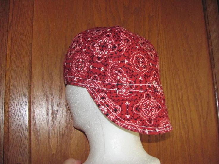 (9) Name: 'Sewing : Welding Cap Pattern Welders Hat