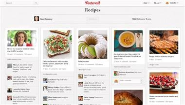 Mitt's meat loaf recipe and other finds on Ann Romney's Pinterest