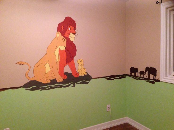 Best Nursery Ideas Images On Pinterest Lion King Nursery - Lion king nursery wall decals