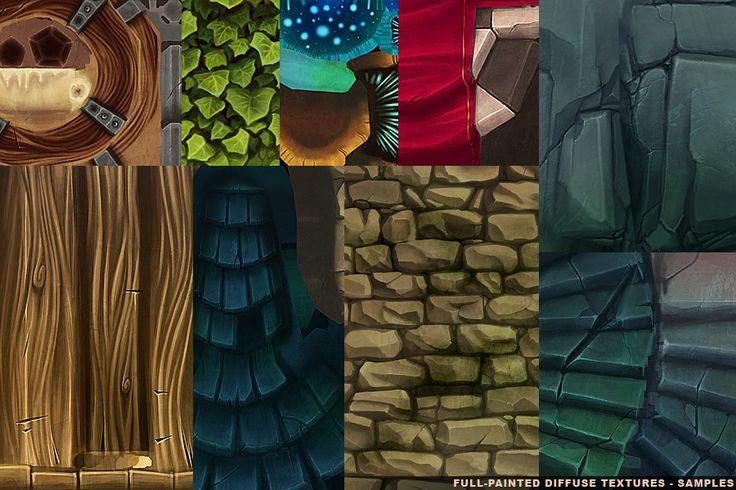 Diorama: Hero Quest Tribute - Cartoon Dungeon - Textures