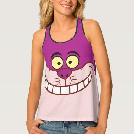 Cheshire Cat Face 3 Tank Top - tap to personalize and get yours