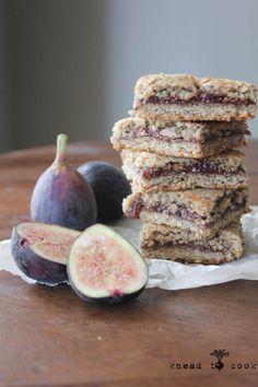 Fresh Fig Newtons Cookies with Mamma Chia organic Chia Seeds. Vegan. Gluten Free.