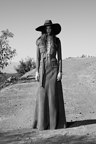 Photo 7- Slimane's New Suede Spread For Saint Laurent (Say That 10x Fast!)