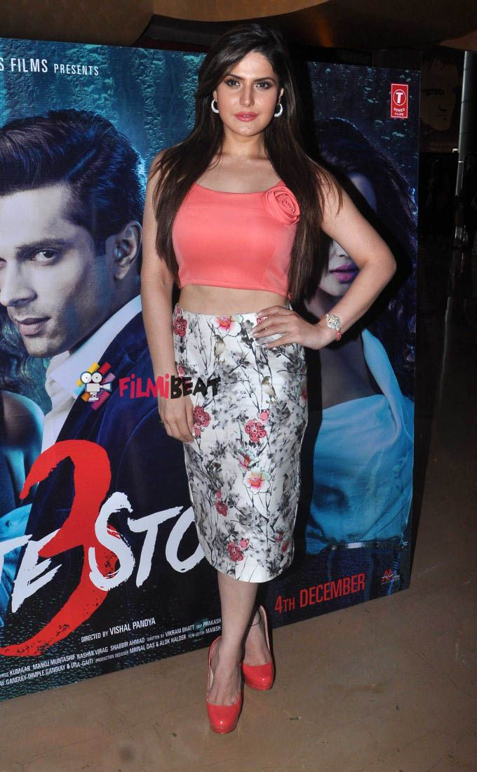 Zarine Khan at Trailer launch Of Hate Story 3