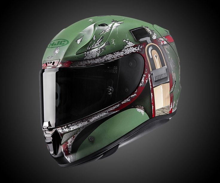 Unlike a few selections in this slideshow of sick motorcycle helmets, you can probably wear HJC's new RPHA 11 Boba Fett helmet without getting laughed off the road (it's an obvious, but not over-the-top Star Wars circus Boba) and without smashing you