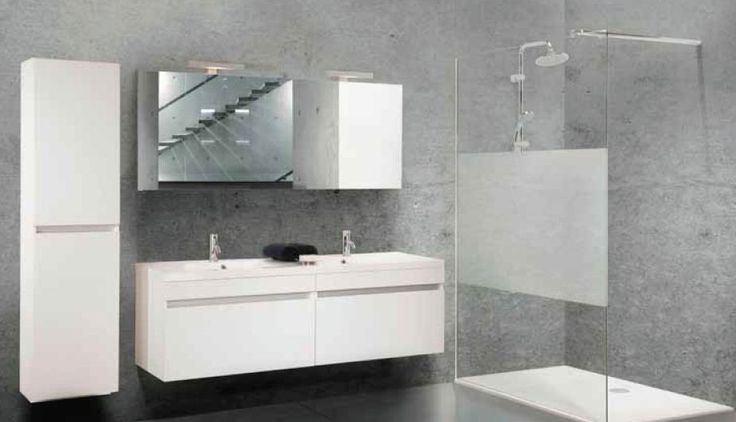 Meer dan 1000 idee n over grote douche op pinterest houten kasten en badkamer - Mooie moderne badkamer ...