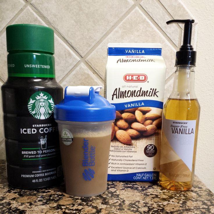 My Go-To Knockoff Starbucks Vanilla Iced Coffee Recipe!