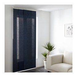 IKEA - ANNO SANELA, Paneelgordijn, Een paneelgordijn is ideaal voor een laag-over-laagoplossing voor het raam, als scheidingswand of om een open opbergoplossing te verbergen.Het paneelgordijn is gewoon op de gewenste lengte te knippen. Hoeft niet gezoomd te worden.