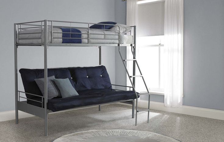 1000 Ideas About Futon Bunk Bed On Pinterest Twin Full