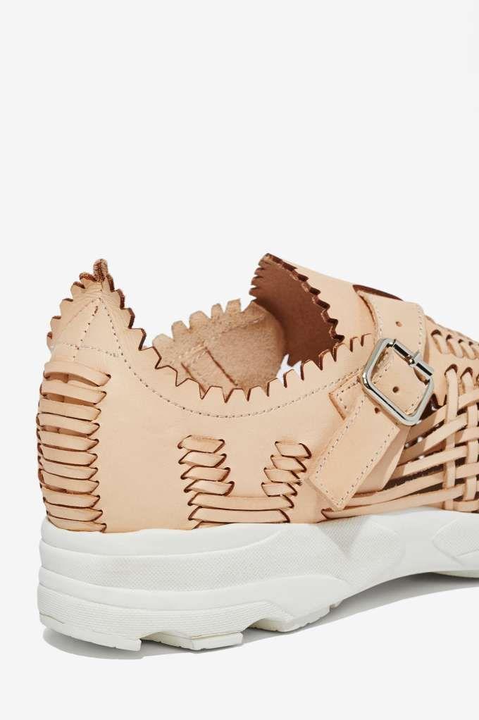Jeffrey Campbell Meander Leather Sneaker - Sneakers