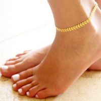 Fashion Women Gold Barefoot Coin Ankle Chain Anklet Bracelet Foot Jewelry Beach