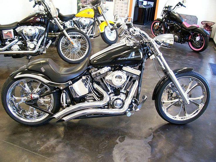 Harley Deuce Custom | 2000 Harley Davidson Softail Deuce | Okie Custom Cycles