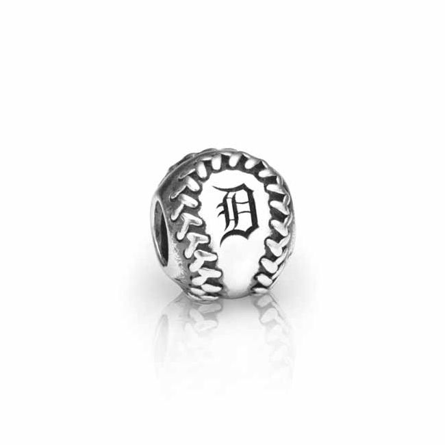 Pandora Detroit Tigers Baseball Charm